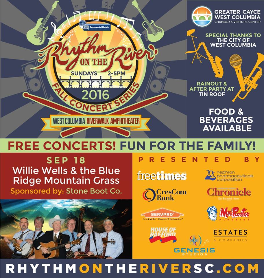 Rhythm on the River Fall Concert Series begins Sunday with ...